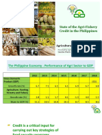 State of the Agri-Fishery Credit in the Philippines