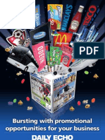 Daily Echo Promotions Media Pack