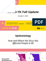 B.C. COVID-19 modelling for Oct. 5