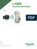 Harmony XB5R Schneider Electric Hoja de instrucciones (1)