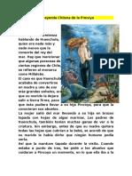 Leyenda Chilena de la Pincoya