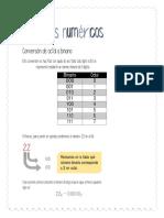 Conversión de sistemas numéricos