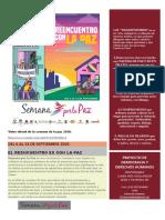 SEMANA DE LA PAZ 2020