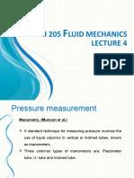 L4-Pressure and manometers