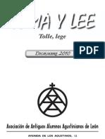 Revista Toma y Lee 2010. Asociación de Antiguos Alumnos Agustinisanos de León