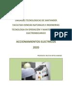 ACCIONAMIENTOS 2020