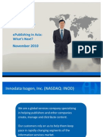 What's next - ePublishing in Asia