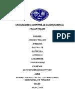 ENSAYO DE LOS DEBERES FORMALES DE LOS CONTRIBUYENTES, FORMALES Y TERCEROS.docx