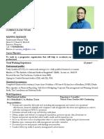CV of Manna Mahadi--