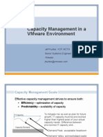 Capacity Management in a VMware Environment