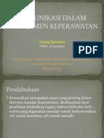Komunikasi Dalam Manajemen Keperawatan.pptx
