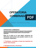 PPT 14 OPERATORIA COMBINADA