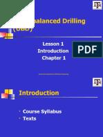 Lesson 1 Syllabus