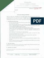 AVIS DE RECRUTEMENT ENQUÊTE COVID-19