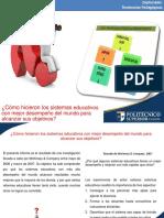 Presentación 1. Modelos educativos innovadores
