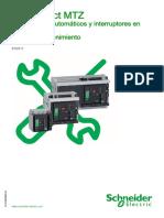 Guía de Mantenimiento Masterpact MTZ