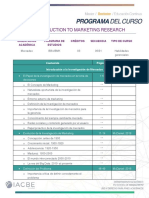 MKT203 Introduction to Marketing Research Semana 1