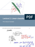 Lecture 02 - Linear classification