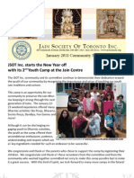 JSOT INC January 2011 Community Newsletter