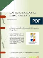 LOS SIG APLICADOS AL MEDIO AMBIENTE ppt2