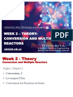 Week 2 (Final) - Theory - Conversion and Multiple Reactors1(1)