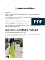Stylish Work from Home Outfit Ideas