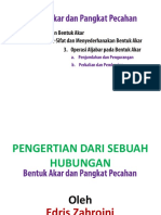 pengertian bentuk akar dan pangkat pecahan