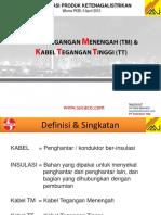 Kabel Teg. Menengah (TM) & Kabel Transmisi (TT) by pt supreme-sucaco