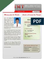 CIMT Bulletin Issue08 Vol01