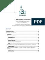 Actividad 03 - Aplicación de transistores