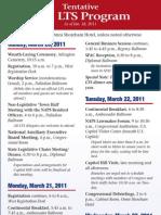 LTS Program (Feb. TPS)