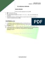 1.1 - Os Números Naturais - Ficha Informativa