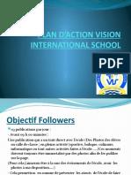 PLAN D'ACTION VISION INTERNATIONAL SCHOOL