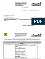 PLANIFICARE CALENDARISTICA, ED. MUZ, CLASA VI, 2020-2021