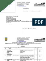 PLANIFICARE SEMESTRIALĂ, ED. MUZ, CLASA VII, 2020-2021