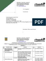 PLANIFICARE SEMESTRIALA, ED. MUZ, CLASA VIII, 2020-2021