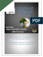 II CURSO DE COCINA SIN GLUTEN. AVILA