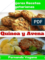 Las mejores recetas vegetarianas Quínoa y Aven