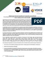 NDICI and Humanitarian Aid MFF October 2020