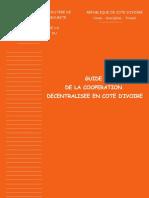 Guide de la décentralisation en CIV