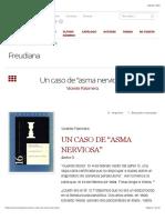 """Palomera-Un caso de """"asma nerviosa"""" – Freudiana"""
