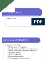6-3 Hyperbolas (Presentation)