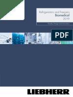 Liebherr Biomedical Brochure 2019 LR