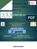 2° PRIMARIA E.F. CRONOGRAMA TRABAJO A DISTANCIA