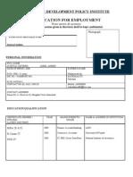 employment_form internal Auditor