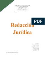 REDACCION JURIDICA