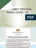 TAKLIMAT PASCA COVID 19 KPD3026