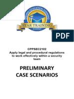 CPPSEC2102 Case Scenario