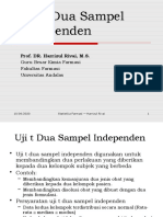 Statistika Farmasi 4 Uji t Dua Sampel Independen.pptx