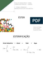 seminario ester quimica 2p